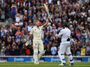 Ben Stokes celebrates his century, England v South Africa, 3rd Investec Test, The Oval, 2nd day, July 28, 2017