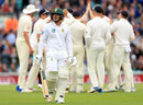 Quinton de Kock walks off after making 17, England v South Africa, 3rd Investec Test, The Oval, 2nd day, July 28, 2017