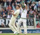 Faf du Plessis pads up against James Anderson and regrets it, England v South Africa, 3rd Investec Test, The Oval, 2nd day, July 28, 2017
