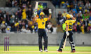 Grant Elliott saw the Bears over the line, Birmingham v Lancashire, NatWest T20 Blast, North Group, Edgbaston, July 30, 2017