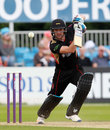 Colin Ackermann top-scored with 24 from 26 in a below-par effort, Derbyshire v Leicestershire, NatWest T20 Blast, North Group, Derby, July 31, 2017