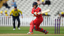 Jos Buttler shapes to play a reverse-shot in his 80 not out, Birmingham v Lancashire, NatWest T20 Blast, North Group, Edgbaston, July 30, 2017