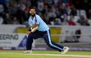 Azeem Rafiq celebrates a Durham wicket, Yorkshire v Durham, NatWest Blast, North Group, July 26, 2017