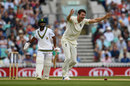 That man again: Toby Roland-Jones broke the fifth-wicket stand when he trapped Temba Bavuma lbw, England v South Africa, 3rd Investec Test, The Oval, 5th day, July 31, 2017