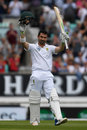 Dean Elgar brought up a superb fighting hundred, England v South Africa, 3rd Investec Test, The Oval, 5th day, July 31, 2017