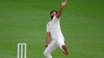Ryan Patel in action for Surrey