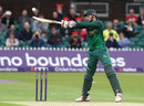 Alex Hales frees his arms over the off side, Leicestershire v Nottinghamshire, NatWest T20 Blast, North Group, Grace Road, August 2, 2017