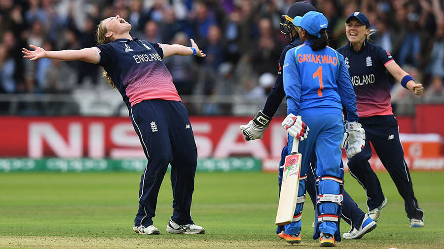 Headliner: Anya Shrubsole's six wickets in the final will inspire a generation of cricketers to come