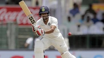Wriddhiman Saha ushered India past 450