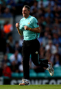 Rikki Clarke runs out at Kia Oval to start the second phase of his Surrey career, Surrey v Glamorgan, NatWest Blast, South Group, Kia Oval, August 4, 2017