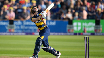 Aneurin Donald has been a bright feature of Glamorgan's season