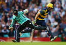 Ollie Pope fails to run out David Miller, Surrey v Glamorgan, NatWest Blast, South Group, Kia Oval, August 4, 2017