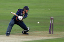Alex Blake is bowled by Jofra Archer, Kent v Sussex, NatWest Blast, South Group, Canterbury, August 4, 2017