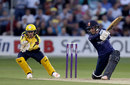 Adam Wheater drives, Essex v Hampshire, NatWest Blast, South Group, Chelmsford, July 21, 2017