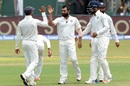 Mohammed Shami struck twice in an over, Sri Lanka v India, 2nd Test, SSC, 3rd day, Colombo, August 5, 2017
