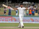 Kusal Mendis' third Test hundred helped Sri Lanka reduce the deficit, Sri Lanka v India, 2nd Test, SSC, 3rd day, Colombo, August 5, 2017