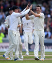 Three from three: Toby Roland-Jones removed Hashim Amla again, England v South Africa, 4th Investec Test, Old Trafford, 2nd day, August 5, 2017