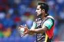 Hasan Ali made his CPL debut for Patriots, Guyana Amazon Warriors v St Kitts and Nevis Patriots, Lauderhill, CPL, August 5, 2017