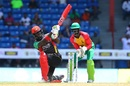 Carlos Brathwaite's 19-ball 31 helped his team recover, Guyana Amazon Warriors v St Kitts and Nevis Patriots, CPL, Lauderhill, August 5, 2017