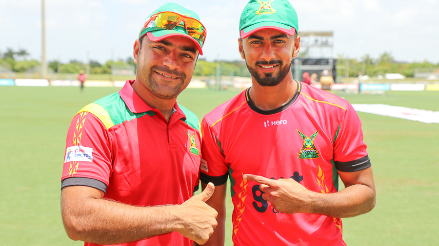 Afghanistan legspinner Rashid Khan and USA medium pacer Ali Khan have become fast friends