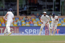 Wriddhiman Saha dislodges the bails to send back Dilruwan Perera, Sri Lanka v India, 2nd Test, SSC, 4th day, Colombo, August 6, 2017