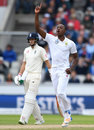 Kagiso Rabada removed Keaton Jennings once again, England v South Africa, 4th Investec Test, Old Trafford, 3rd day, August 6, 2017