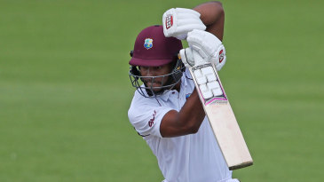 Shai Hope made a half-century