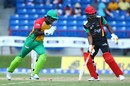 Chadwick Walton completes the stumping of Evin Lewis, St Kitts and Nevis Patriots v Guyana Amazon Warriors, CPL 2017, Lauderhill, August 6, 2017