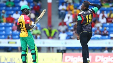 Sheldon Cottrell bids adieu to Chadwick Walton with a salute