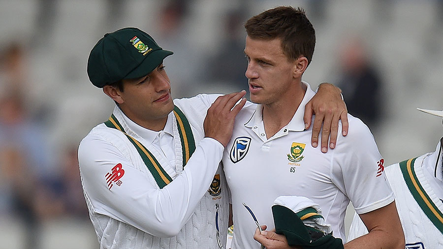 Morne Morkel claimed some late reward with the final two wickets