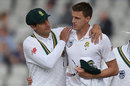 Morne Morkel claimed some late reward with the final two wickets, England v South Africa, 4th Investec Test, Old Trafford, 4th day, August 7, 2017