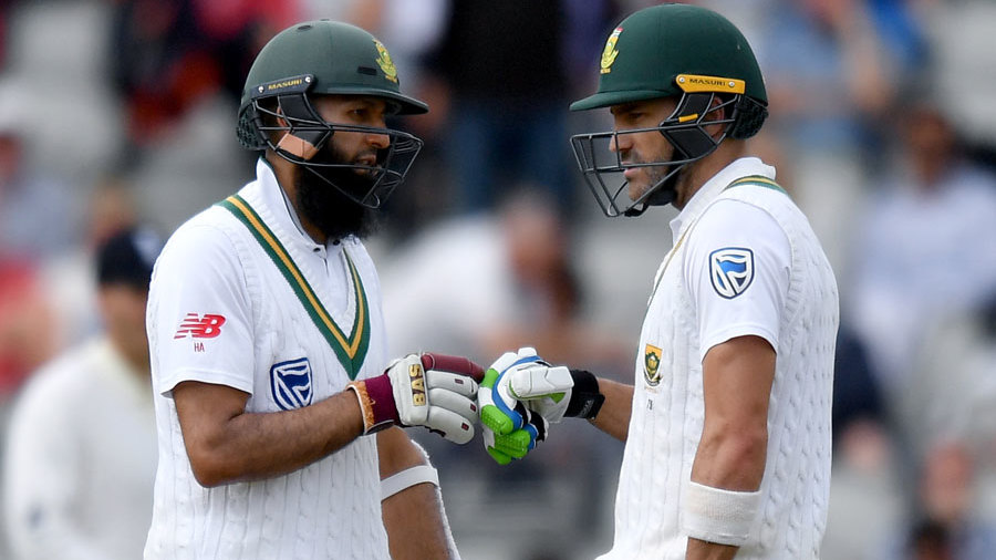 Hashim Amla and Faf du Plessis put on a resilient stand