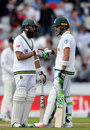 Hashim Amla and Faf du Plessis put on a resilient stand, England v South Africa, 4th Investec Test, Old Trafford, 4th day, August 7, 2017