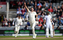 James Anderson helped wrap up victory quickly after tea, England v South Africa, 4th Investec Test, Old Trafford, 4th day, August 7, 2017
