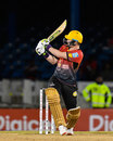 Colin Munro plays a ramp over short fine , T&T Riders v Jamaica Tallawahs, CPL 2017, Port of Spain
