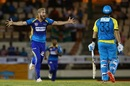 Wayne Parnell dismissed Shane Watson for a first-ball duck, St Lucia Stars v Barbados Tridents, CPL 2017, Gros Islet, August 10, 2017