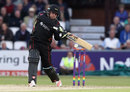 Mark Cosgrove sets himself to launch one, Northamptonshire v Leicestershire, NatWest T20 Blast, North Group, Wantage Road, August 11, 2017