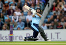 Adam Lyth swung four sixes in his 50 from 29 balls, Yorkshire v Lancashire, NatWest T20 Blast, North Group, Headingley, August 11, 2017