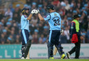 Adam Lyth and Tom Kohler-Cadmore put on 95 for the first wicket, Yorkshire v Lancashire, NatWest T20 Blast, North Group, Headingley, August 11, 2017