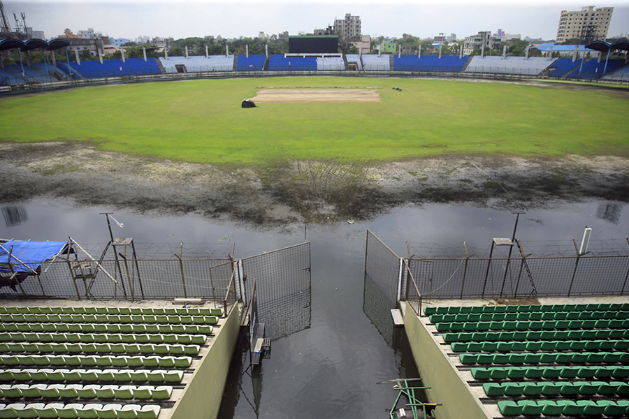 espncricinfo.com - Waterlogged Fatullah ground could lose Australia tour game