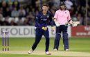 Dan Lawrence picked up the wicket of John Simpson, Essex v Middlesex, NatWest T20 Blast, South Group, Chelmsford, August 11, 2017