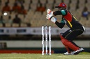 Devon Thomas prepares to collect a throw, St Lucia Stars v St Kitts and Nevis Patriots, CPL 2017, Gros Islet, August 12, 2017