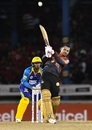 Sunil Narine waltzed to his career-best T20 score, Barbados Tridents v Trinbago Knight Riders, CPL 2017, Port of Spain, August 12, 2017