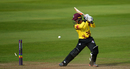 The turning point as Marchant de Lange ends Johann Myburgh's domination, Somerset v Glamorgan, NatWest Blast, South Group, Taunton, August 13, 2017