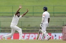R Ashwin tested both edges of the bat, Sri Lanka v India, 3rd Test, 3rd day, Pallekele, August 14, 2017