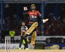 Denesh Ramdin hit the winning runs for Trinbago Knight Riders, Trinbago Knight Riders v St Kitts and Nevis Patriots, CPL 2017, Port of Spain, August 14, 2017