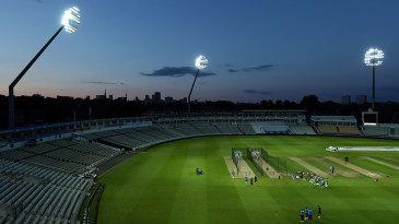 West Indies training under lights