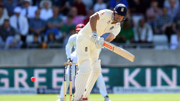 Alastair Cook began with a flurry of boundaries