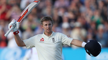 Joe Root brought up his 13th Test hundred