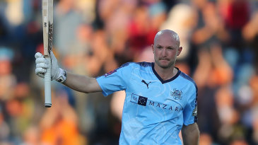 Adam Lyth hammered the highest score in English T20